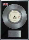 "A-HA - 7"" Platinum Disc - Touchy"